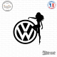 Sticker JDM Volkswagen Chick