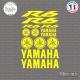 Stickers Planche Yamaha R6 Sticks-em.fr Couleurs au choix