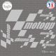 Stickers Planche Moto GP Sticks-em.fr Couleurs au choix