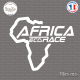 Sticker Africa Eco Race Logo Sticks-em.fr Couleurs au choix