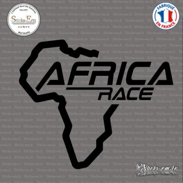 Sticker Africa Race Logo