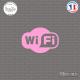 Sticker Logo Wifi Sticks-em.fr Couleurs au choix