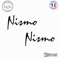 2 Stickers Nismo Sticks-em.fr Couleurs au choix