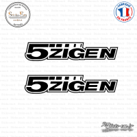 2 Stickers 5ZIGEN Contour Sticks-em.fr Couleurs au choix