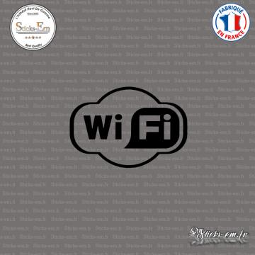 Sticker Wifi Logo