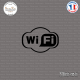 Sticker Wifi Logo Sticks-em.fr Couleurs au choix