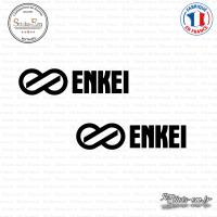 2 Stickers ENKEI Sticks-em.fr Couleurs au choix