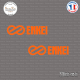 2 Stickers ENKEI Sticks-em.fr Couleurs au choix