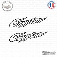 2 Stickers Yamaha Crypton Sticks-em.fr Couleurs au choix