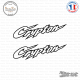 2 Stickers Yamaha Crypton