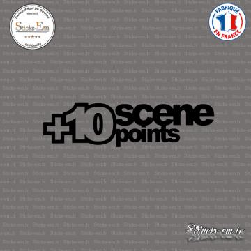Sticker JDM + 10 Scene Points