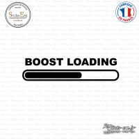 Sticker JDM Boost Loading Sticks-em.fr Couleurs au choix