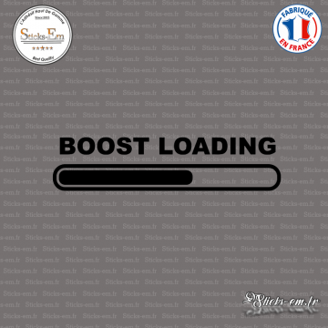 Sticker JDM Boost Loading