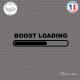 Sticker JDM Boost Loading Sticks-em.fr Couleurs au choix