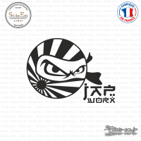 Sticker JDM Drift Jap Work Ninja Sticks-em.fr Couleurs au choix