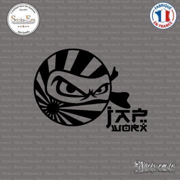 Sticker JDM Drift Jap Work Ninja