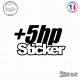 Sticker JDM +5hp-Sticker sheared