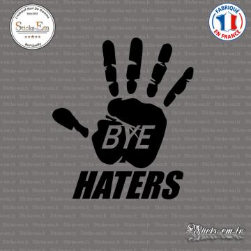 Sticker JDM Bye Haters