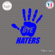 Sticker JDM Bye Haters sticks-em.fr