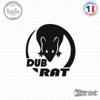 Sticker JDM Dub-Rat