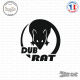 Sticker JDM Dub-Rat
