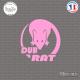 Sticker JDM Dub-Rat sticks-em.fr