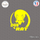 Sticker JDM Dub-Rat Sticks-em.fr Couleurs au choix