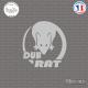 Sticker JDM Dub-Rat Sticks-em.fr Couleurs au choix