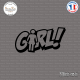 Sticker JDM GIRL Sticks-em.fr Couleurs au choix