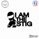 Sticker JDM I Am The Stig
