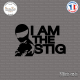 Sticker JDM I Am The Stig Sticks-em.fr Couleurs au choix
