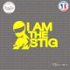 Sticker JDM I Am The Stig sticks-em.fr
