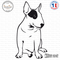 Sticker Bull-Terrier sticks-em.fr
