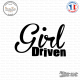 Sticker JDM Girl Driven