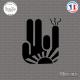 Sticker JDM Stinky Shocker Rising Sun Sticks-em.fr Couleurs au choix