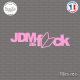 Sticker JDM as-fck Sticks-em.fr Couleurs au choix