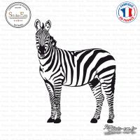 Sticker Zèbre Sticks-em.fr Couleurs au choix