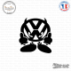 Sticker JDM Volkswagen Devil