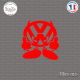 Sticker JDM Volkswagen Devil Sticks-em.fr Couleurs au choix