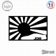 Sticker JDM Sunshine Sticks-em.fr Couleurs au choix