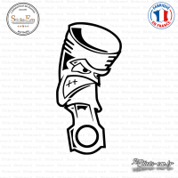 Sticker JDM Piston