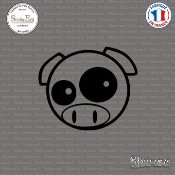 Sticker JDM Pig