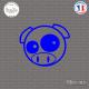 Sticker JDM Pig Sticks-em.fr Couleurs au choix