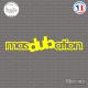 Sticker JDM Masdubation Sticks-em.fr Couleurs au choix