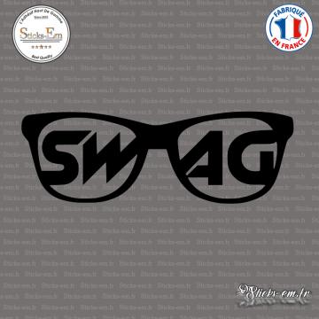 Sticker JDM Lunettes Swag