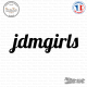 Sticker JDM Jdm Girls Sticks-em.fr Couleurs au choix