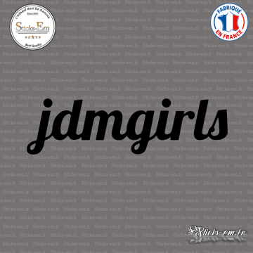 Sticker JDM Jdm Girls
