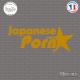 Sticker JDM Japonese Porn Sticks-em.fr Couleurs au choix