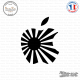 Sticker JDM Japan Apple Sticks-em.fr Couleurs au choix