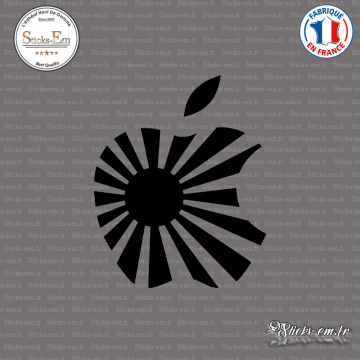 Sticker JDM Japan Apple